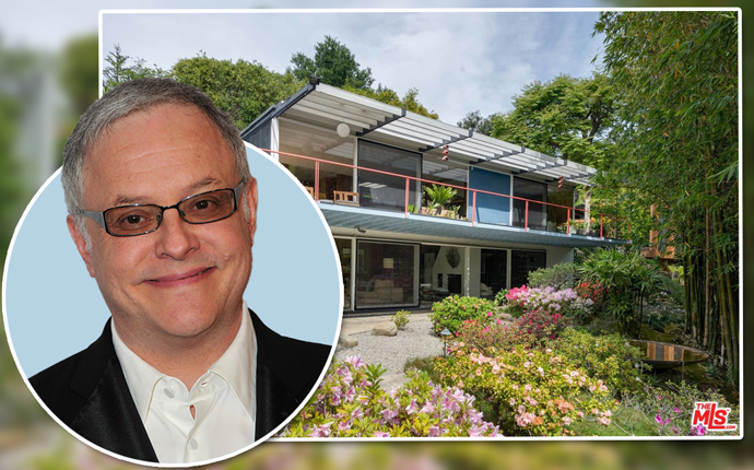 Neal Baer and 2805 Woodstock Road (Credit: Zillow)