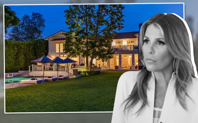 Tracy Tutor and her Brentwood home