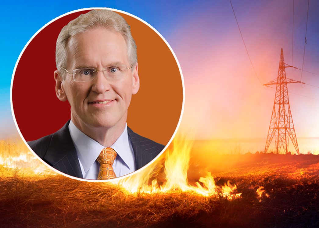 PG&E CEO William Johnson (Credit: PG&E and iStock)