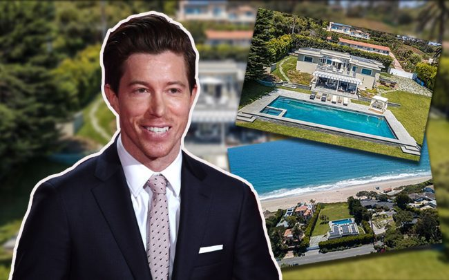 Shaun White and 7163 Birdview Avenue (Credit: Getty Images)