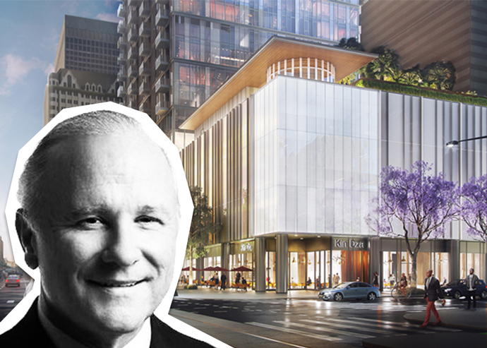 John Westerfield is CEO of MFA and a rendering 8th & Fig (Credit: DLANC)