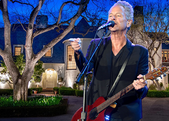 Lindsey Buckingham and 299 North Saltair Avenue (Credit: Getty Images)