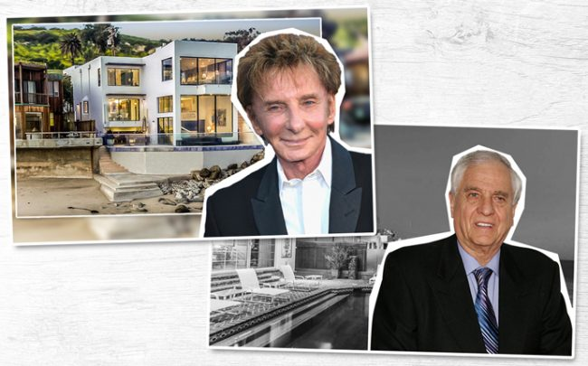 Barry Manilow and 24146 Malibu Road, and Garry Marshall and 22440 Pacific Coast Highway