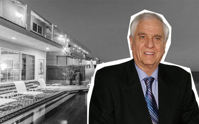 Garry Marshall and 22440 Pacific Coast Highway (Credit: Getty Images and Zillow)