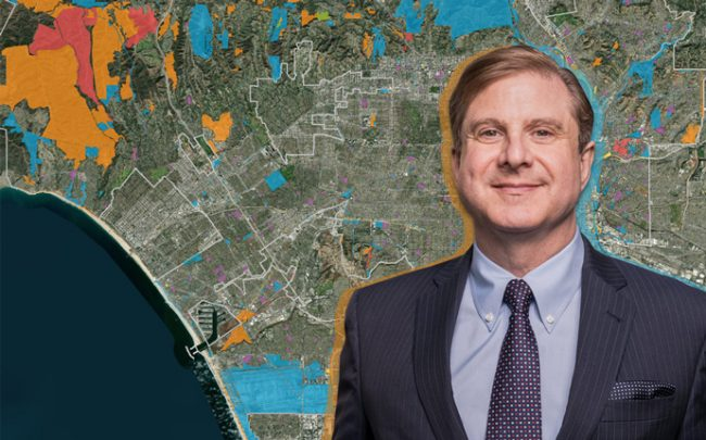 L.A. Controller Ron Galperin and a screenshot of Property Panel