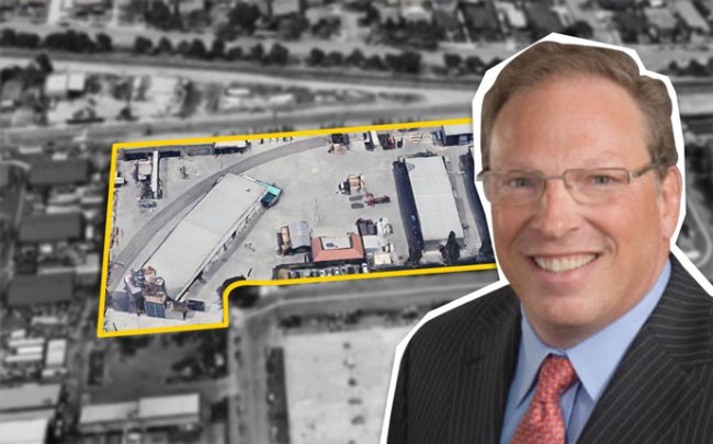 Marc Brutten, founder of Westcore and the redevelopment site (Credit: Google Maps)