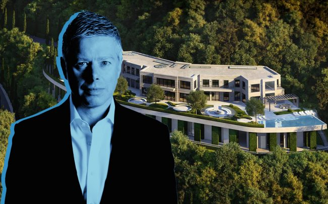 Domvs London co-founder Barry Watts and 800 Tortuoso Way (Credit: Linkedin, Dougas Elliman)
