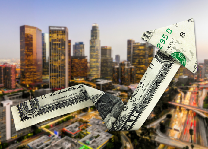 Downtown Los Angeles (Credit: iStock)