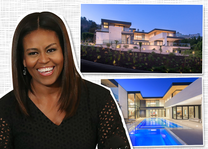 Michelle Obama rented out the Shark House (Credit: Getty Images)