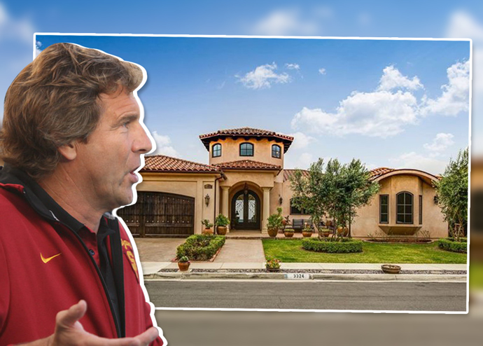 Jovan Vavic and his now-former home in Rancho Palos Verdes