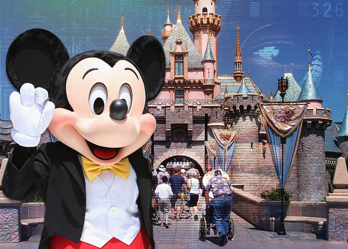 Disney has a sophisticated system for tracking the data of guests to its theme parks