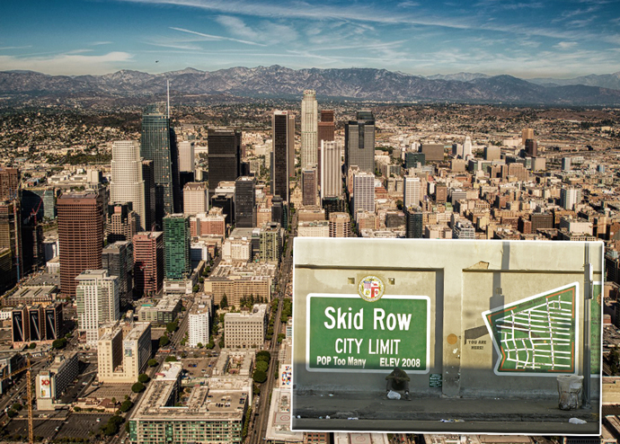 Downtown Los Angeles (credit: Jeff Cleary and Laurie Avocado)