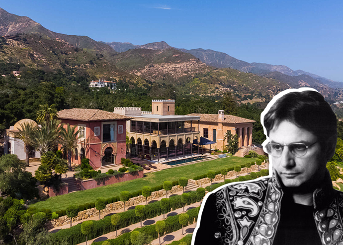 Kinka Usher and his Alhambra-inspired estate (Credit: The Agency)