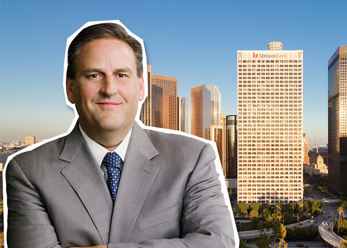 Rod Richerson, Western regional president for KBS and Union Bank Plaza