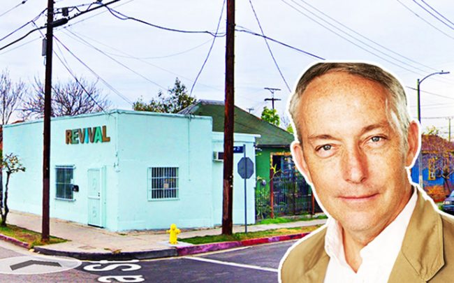 4Site Real Estate Chief Principal Todd Wexman and the Lincoln Heights site