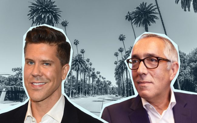 From left: Fredrik Eklund and Stephen Kotler (Credit: Getty Images and Jeff Newton)