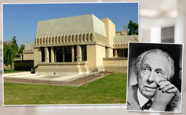 Frank Lloyd Wright and the Hollyhock House