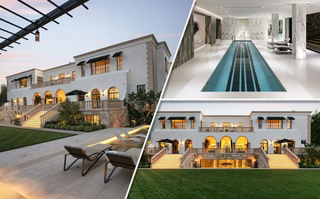 The home on South Mapleton in Holmby Hills