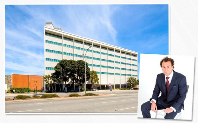 Vella Group's Zach Vella and the office in El Segundo