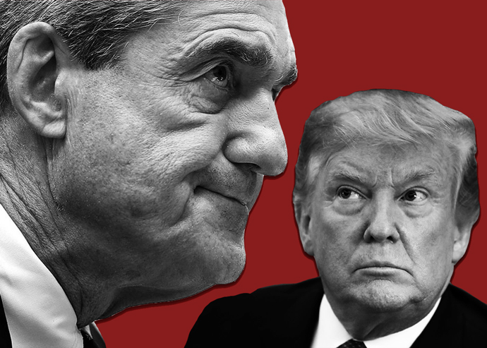 Robert Mueller and President Donald Trump (Credit: Getty Images)