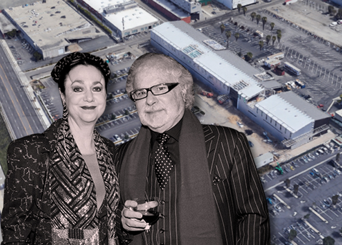amitaur Constructs founders Laurie and Frederick Samitaur Smith and the development site (credit: Getty Images and Google Earth)
