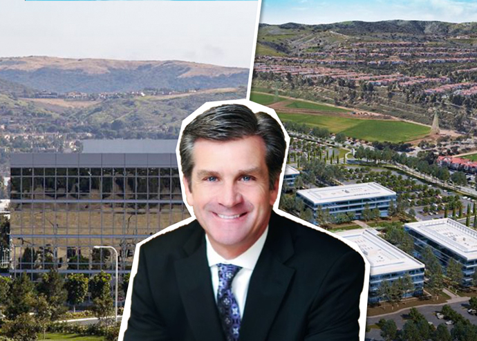 Tom Greubel, Vice President of leasing, with Spectrum Terrace and Discovery Park