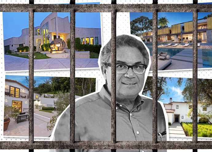Robert Shapiro and a few of the properties (Credit: iStock)