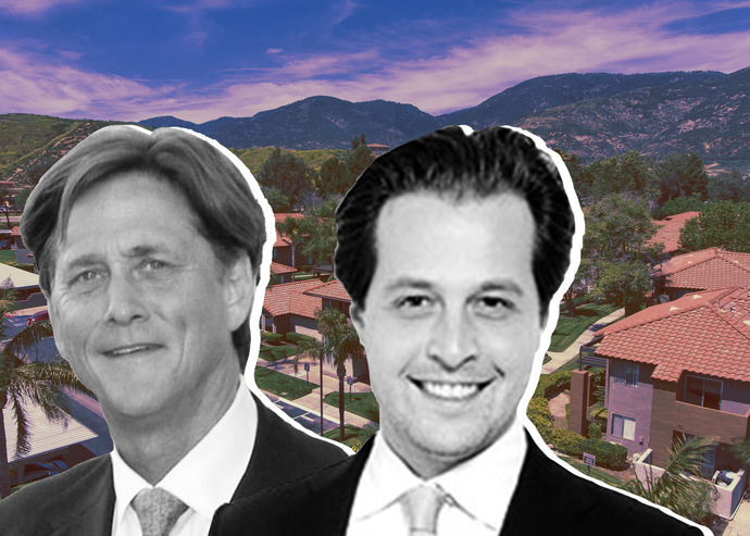 Daniel Wrublin (right), principal of Dalan Management and Gregory Fowler, managing partner at FPA Multifamily with The Vue Apartment Homes in San Bernardino