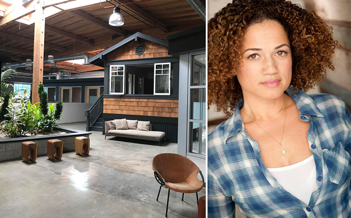 Blackbird founder Bridgid Coulter and the Culver City space as of August
