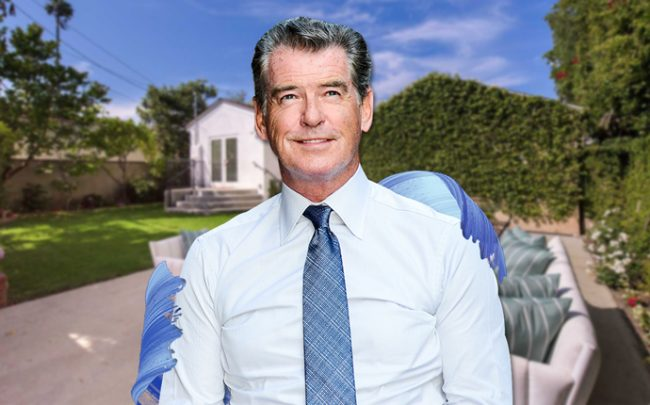 Pierce Brosnan and his new home in Santa Monica