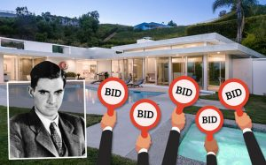 Home on Haynes Avenue and Howard Hughes (Credit: Britannica and iStock)