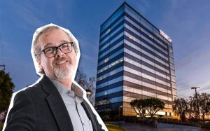 ORCI CEO Andrew Orci and 3415 S. Sepulveda Boulevard (Credit: The Swing Company)