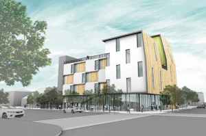 The Chesterfield project planned in South L.A. (Credit: Adobe Communities)