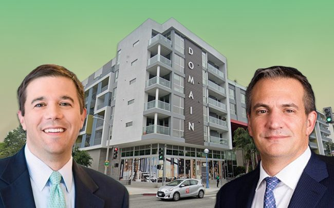 Barings Head of Alternative Investments Anthony Sciacca, and DWS Head of Americas Bob Kendall (Credit: Google Maps)