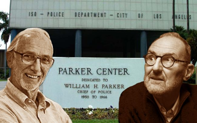 Renzo Piano and Thom Mayne of Morphosis are among the architects vying to redevelop the Parker Center site (Credit: Wikipedia, RPBW Architects, Morphosis)