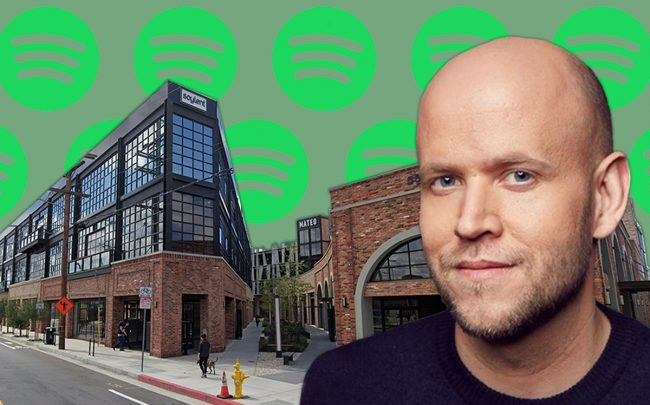 Spotify CEO Daniel Ek and At Mateo (Credit: Spotify)
