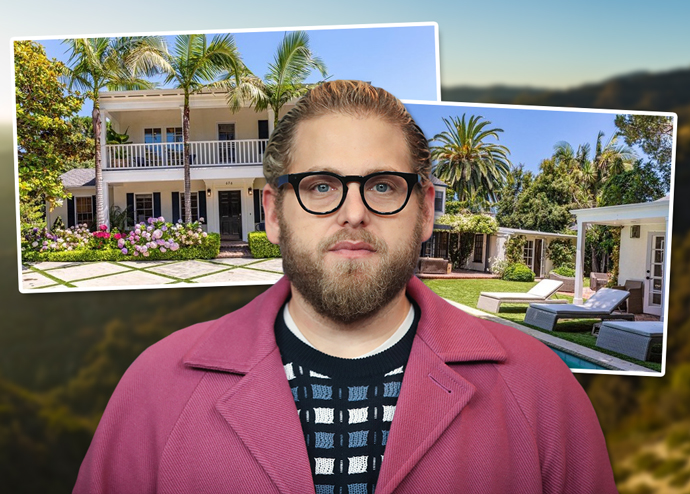 Jonah Hill and the home (Credit: Getty Images and Realtor)