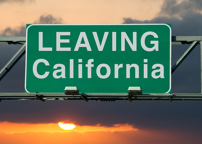 Californians are considering a move out of state because of the cost of housing (Credit: iStock)