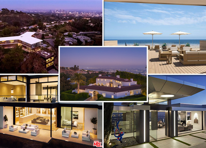 The five priciest listings in L.A. County last week