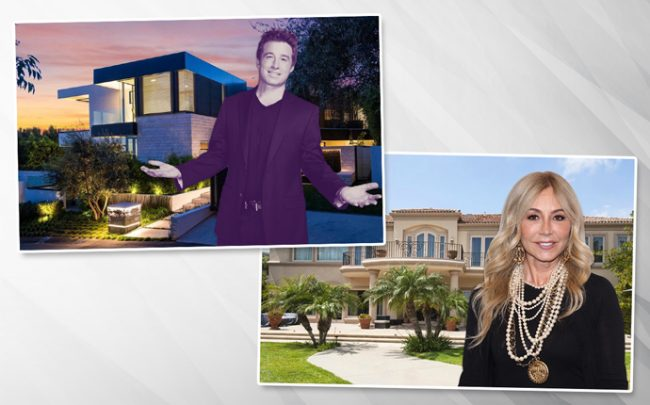 From left: Russell Weiner, and Anastasia Soare (Credit: Coldwell Banker, Getty Images and Realtor)