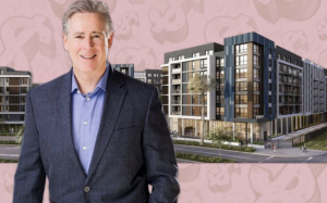 Mill Creek Residential CEO William MacDonald and Modera West LA (Credit: iStock)