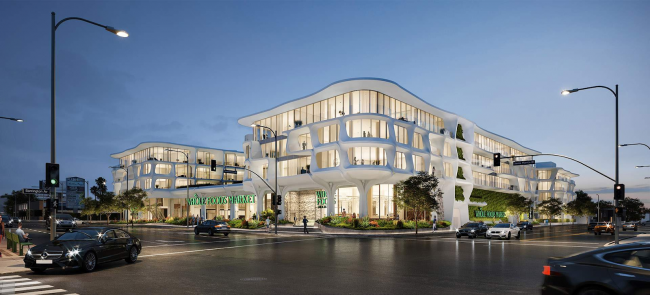 A rendering of the Sawtelle project (Credit: Landry Design Group)