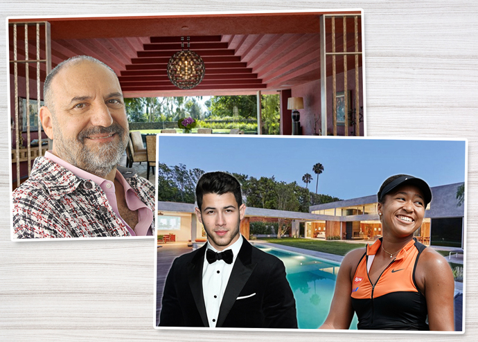 Joel Silver, his mansion in Brentwood; Nick Jonas and his former Beverly Hills home
