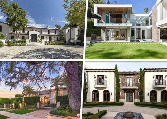 Four of the top residential listings in LA this week