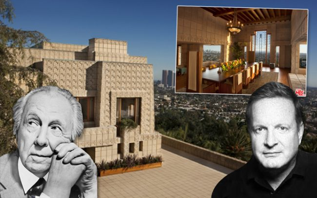 Frank Lloyd Wright, Ron Burkle, and the Ennis House