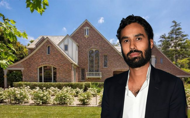 Kunal Nayyar and the home (Credit: Getty Images and Comapss)