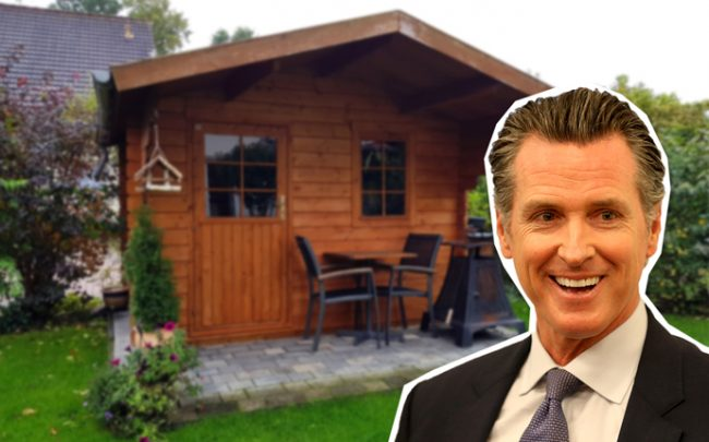Newsom Signs Accessory Dwelling Unit Laws