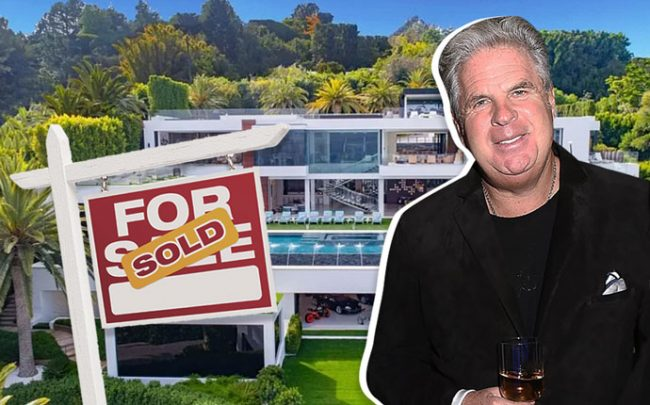 After two years on market, Makowsky unloaded his Bel Air spec mansion (Credit: Zillow, Getty Images, and iStock)