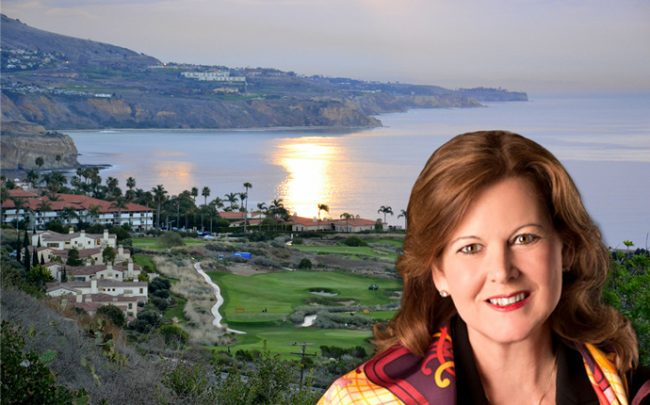 Terranea Resort President Terri Haack and the resort