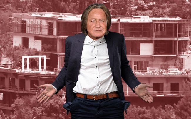Mohamed Hadid says he can't pay to tear down his mansion (Credit: Getty Images, iStock)